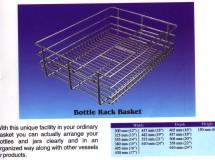 Bottle Rack Basket