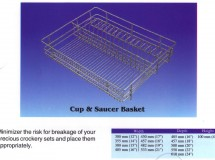 Cup and Saucer Basket