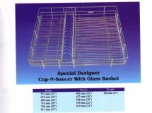 Special Designer Cup and Saucer Basket