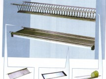 Stainless Steel Plate and Dish Holder